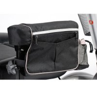 Power Wheelchair Armrest Bag