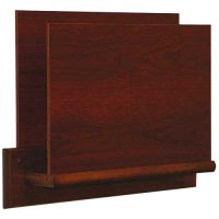 Single Open End Wooden Chart and File Holder (Rack) - Square Plate