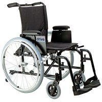 Cougar Ultra Light Wheelchair with Detachable Desk Arms and Elevating