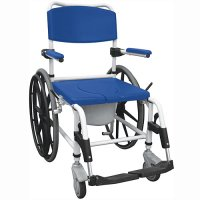 Aluminum Rust Resistant Rehab Shower / Commode Chair