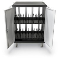 Deluxe iPad Tablet Chromebook Locking Security Storage - 32 Slots