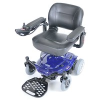 Blue Cobalt Travel Electric Power Chair / Wheelchair