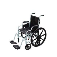 "18"", Poly-Fly High Strength, Light Weight Wheelchair/Flyweight Transpo"