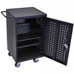 Luxor 16 Ipad Charging Station Cart - Holds 16 Tablets - LLTM16-B
