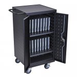 Luxor 18 Ipad Charging Station Cart - Holds 18 Tablets - LLTP18-B