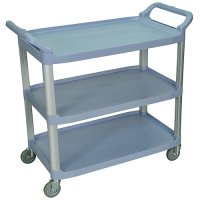 Large 3 Shelf Serving or Product Transport Utility Cart