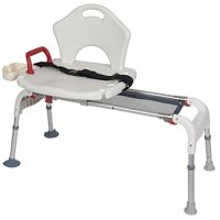 Folding Universal Bath and Shower Sliding Transfer Bench / Chair