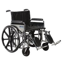 Sentra EC Wheelchair with Detachable Desk Arms and Elevating Legrests