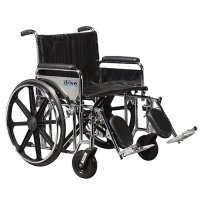 Sentra Bariatric EC Wheelchair with Detachable Full Arms