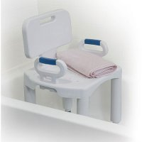 Bath and Shower Seat / Chair with Back and Arms - Premium Series