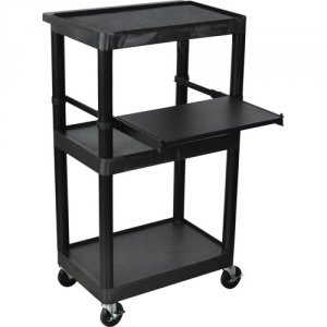 Stand-Up Computer Workstation with Locking Cabinet - LT45C