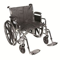 Sentra EC Wheelchair with Detachable Desk Arms and Swing Away Footrest