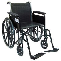 Silver Sport 2 with Fixed Arms and Swing-Away Footrests