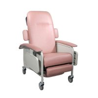 3 Position Clinical Care Patient Room Recliner - Rosewood