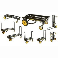 R6RT Mini 8-In-1 Steel Multi-Purpose Equipment Transport Cart