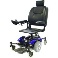 Intrepid Mid-Wheel Electric Power Wheelchair with 20 Inch Pan Seat