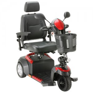Ventura 3 Wheel Scooter with Captain Seat with 18 inch Captain's Seat