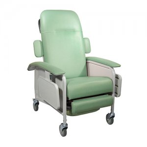 3 Position Clinical Care Patient Room Recliner - Jade