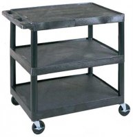Large 3 Shelf Medical Utility Cart - HE33