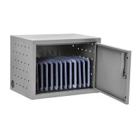 12 Ipad Tablet Charging Station with Locking Box, Wall Mount or Desktop