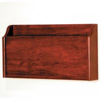 X-Ray Wall Pocket - Mahogany
