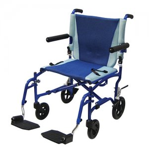 Portable Folding Lightweight Aluminum Transport Chair