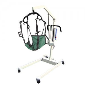 Bariatric Battery Powered Patient Lift - Removable Battery