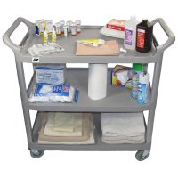 Crayata Medical Storage, Supply and Tranport Utility Cart, Large