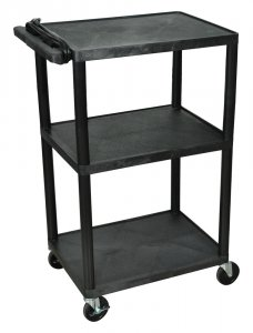 42 Inch Multimedia Computer Workstation Cart - LP42E-B