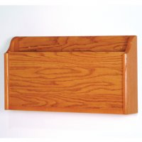 X-Ray Wall Pocket - Medium Oak
