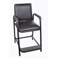 Deluxe Hip High Chair with Comfortable Padded Seat