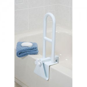 Bath Tub Safety Rail - Parallel Steel Clamp-On