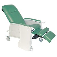 3 Position Recliner, Bariatric, Extra Wide Recliner in Jade