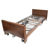 Ultra Light Plus Full Electric Low Hospital Patient Bed