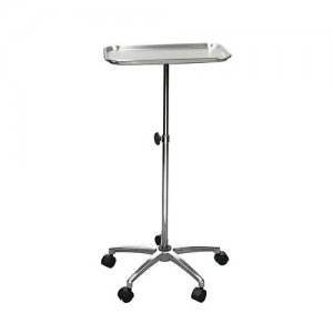 "Mayo Instrument Stand with Mobile 5"" Caster Base"