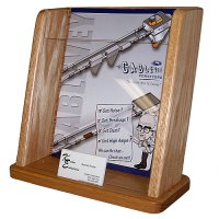 Single Pocket Wooden Countertop Chart Holder