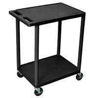 Small 2 Shelf Rolling Utility Cart - HE32