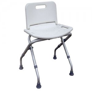 Bath and Shower Seat / Chair - Folding with Back