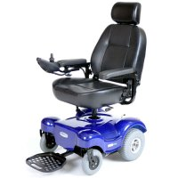 Blue Renegade Power Wheelchair