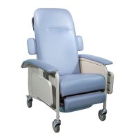 3 Position Clinical Care Patient Room Recliner - Blue Ridge
