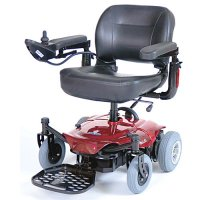 Red Cobalt Travel Electric Power Chair / Wheelchair