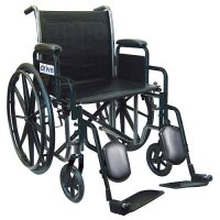 Silver Sport 2 Wheelchair with Detachable Desk Arms and Swing-Away Ele