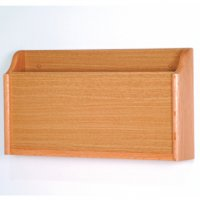 X-Ray Wall Pocket - Light Oak