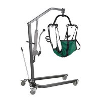 New Style Patient Lift with Six Point Cradle