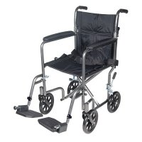 Lightweight Transport Wheelchair with Swing-away Footrest