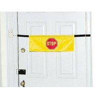 High Visibility Door Alarm Banner with Alarm System