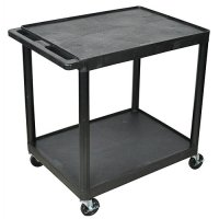 Large 2 Shelf Medical Utility Cart - HE38