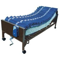 Med Aire Low Air Loss Alternating Pressure Mattress Overlay