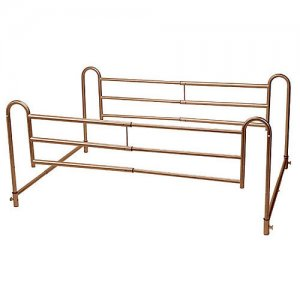Home Bed Style Adjustable Length Bed Rail