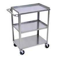 Stainless Steel Utility Cart - 3 Shelf